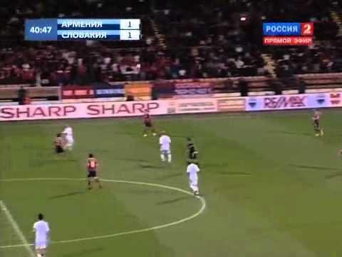 ЕВРО 2012 Армения-Словакия 3-1