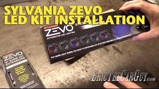 Sylvania ZEVO LED Kit Installation -EricTheCarGuy