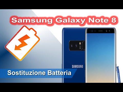 Samsung Galaxy Note 8 Sostituzione batteria - Battery Replacement