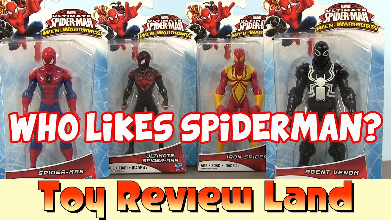 Marvel Ultimate Spider-man Web Warriors Action Figures ...