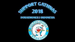 Support Gathnas Doraemoners indonesia regional Karawang (meet and greet dubber doraemon DKK)
