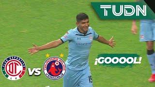¡Cañonazo de Kevin Castañeda! | Toluca 1 - 0 Veracruz | Copa MX - Apertura 2019  - Jornada 5 | TUDN
