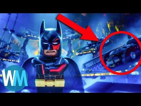 Top 10 Lego Batman Easter Eggs