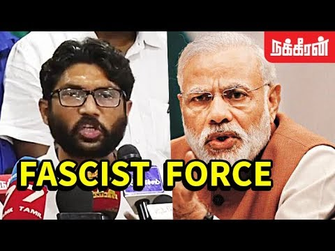 RSS & BJP are SCARED of my Existence | Jignesh Mevani meets Thiruma in Chennai