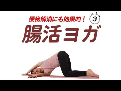 14【腸活ヨガ】腸をキレイにするヨガで体の内側もキレイにする!便秘解消に効果的!