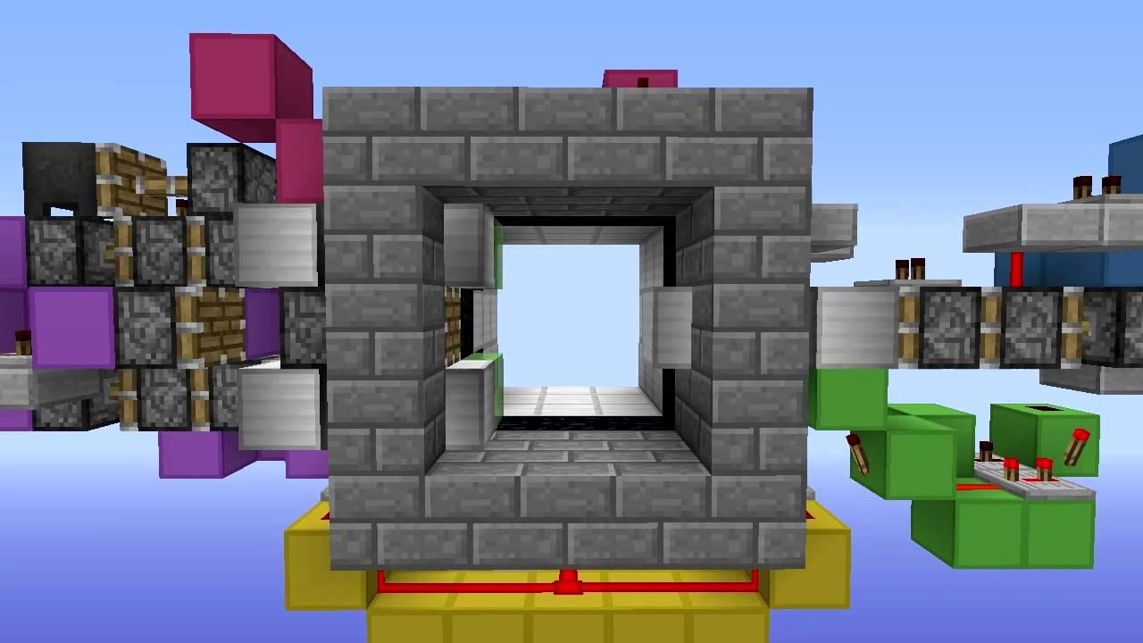 Bite Sized Minecraft Vault Door