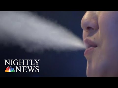 FDA To Decide Fate Of E-Cigs As Use Surges Among Teens | NBC Nightly News