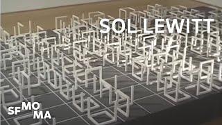 Sol LeWitt's Incomplete Open Cubes
