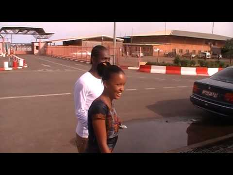 A l'aeroport de guinee  conakry