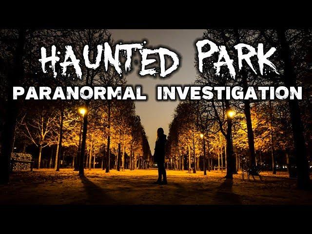 Paranormal Investigation in Haunted Park   Tuileries Garden, Paris