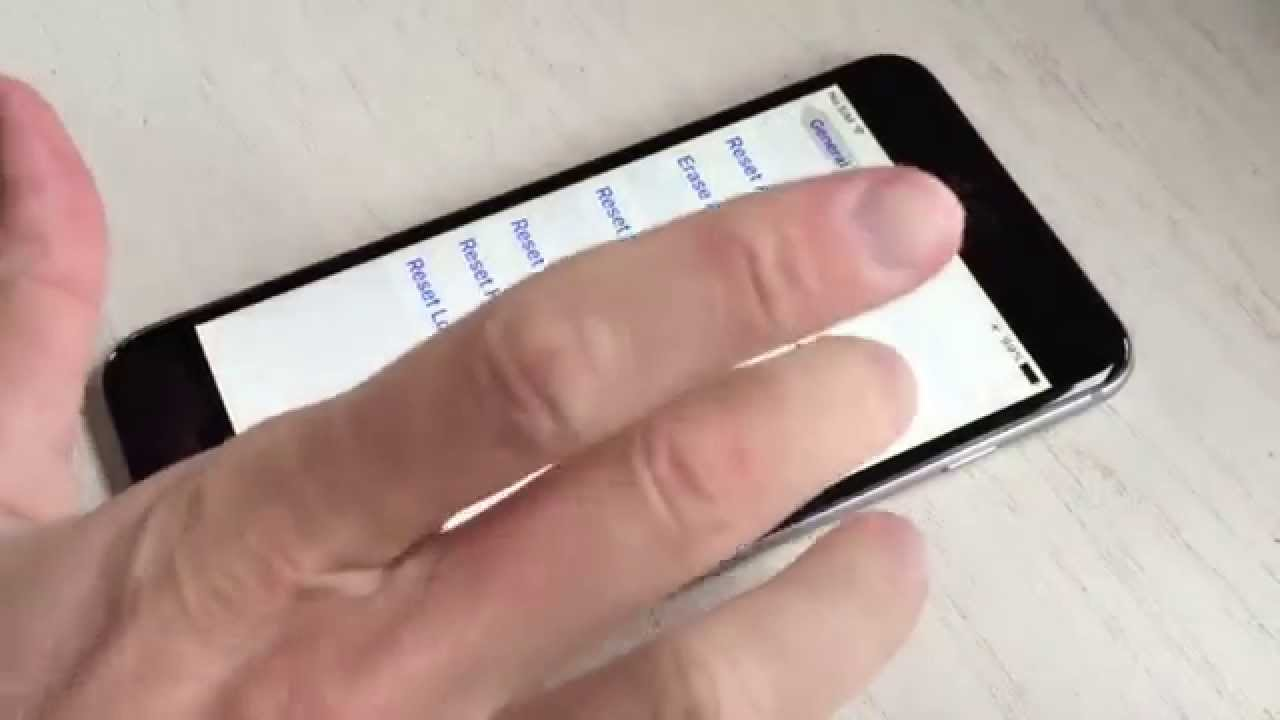 Fix an Unresponsive Touch Screen on iPhone 6s and iPhone 6s Plus