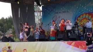 Марагарита Артюх и Bubamara Brass Band - Jasna Dance (live 3 авг 2013)