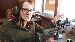 Shooting my sniper rifle at 300m