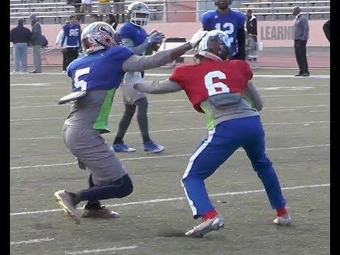 AL-MS: WR vs. DB (Team Mississippi)