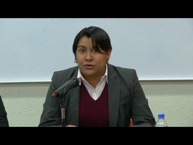 Palabras de la Dra Perla Gómez en la firma de convenio con la UACM