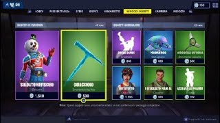 SHOP FORTNITE ITA 14 December NEW NATALIZIE SKIN XD