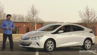 2016 Chevy Volt Premier Test Drive Video Review