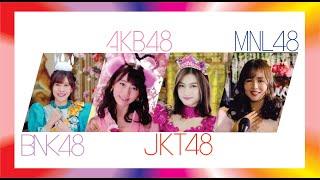 Gambar cover 【Medley】 AKB48 JKT48 BNK48 MNL48 – Kimi wa Melody