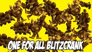 ONE FOR ALL LE RETOUR ! - 10 Blitzcrank, le bon bordel.