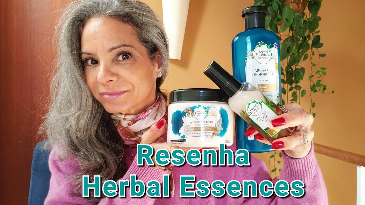 Resenha Herbal Essences Organ Oil - Rotina Capilar | Página da Kika