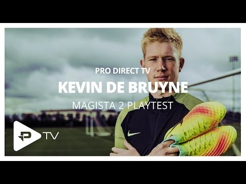 Interview & Kickabout with Kevin De Bruyne & Nike Magista II