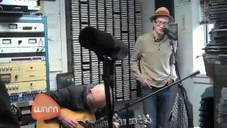 "Trashcan Sinatras perform ""I See the Moon"" at WNRN in Charlottesvil..."
