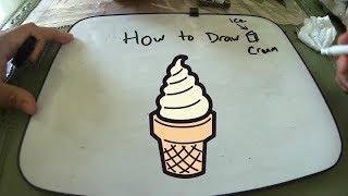 ice cream draw easy
