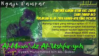 🔴 Ngaji Kitab Al-Mawa'idz Al-'Ushfuriyah ~ Pertemuan #7