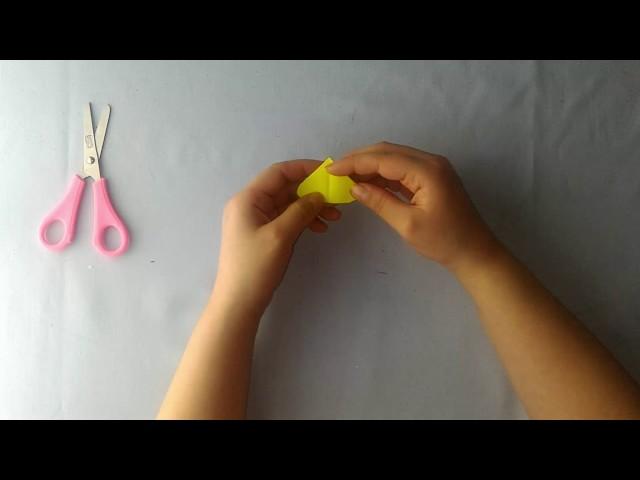 Origami small butterfly made (origami küçük kelebek yap?m?)
