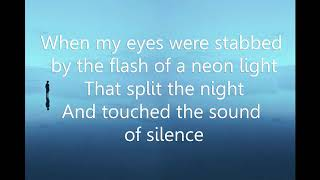 The sound of silence karaoke Female Key Key Am