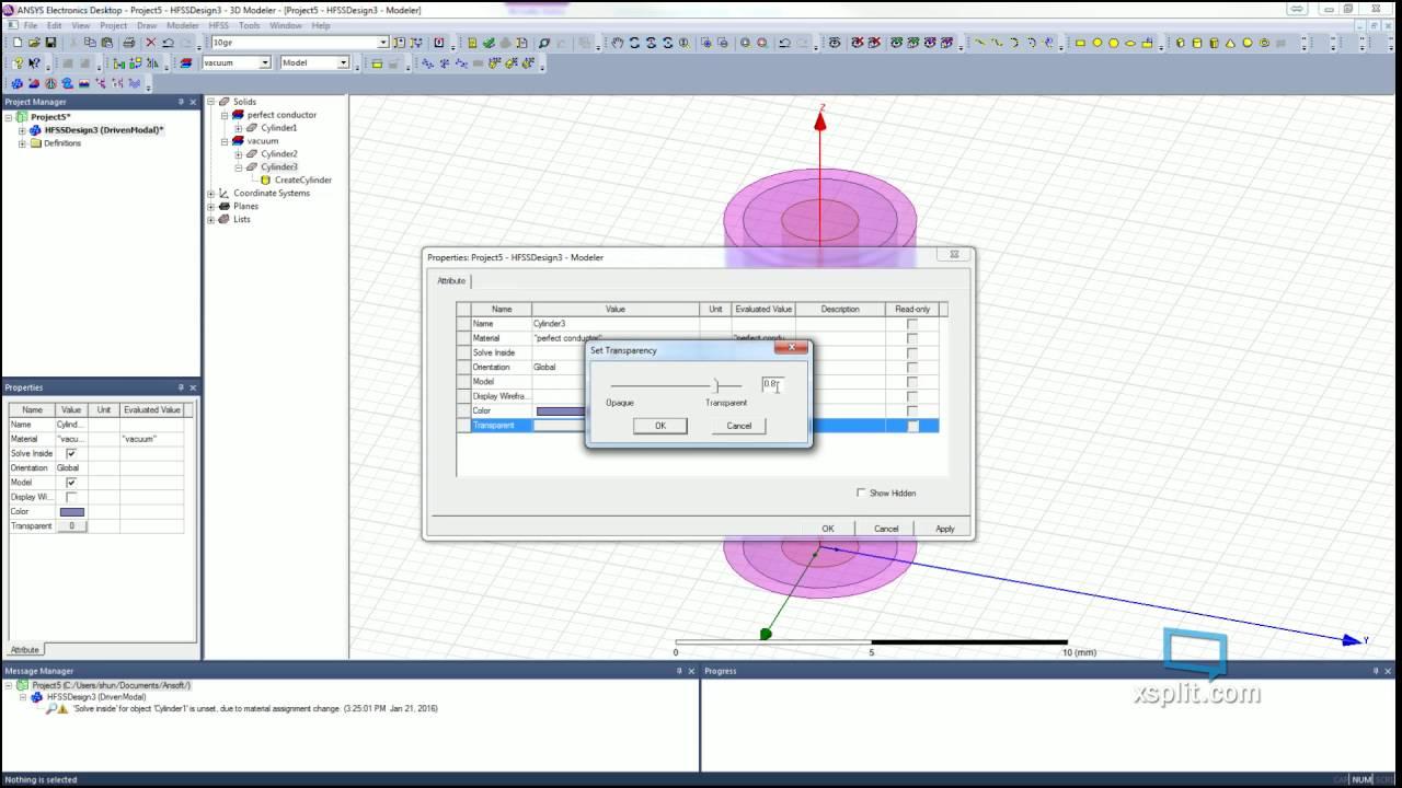 probe fed patch antenna hfss file