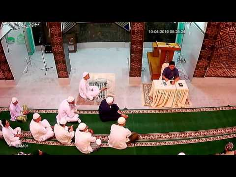 Ust. Budi Prayitno, Pengajian Ba'da Shubuh, 10 April 2016, Masjid Aqobah 1