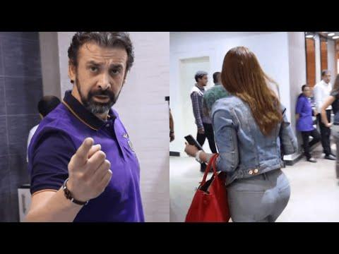 هتموت ضحك من رد فعل كريم عبد العزيز مع نسرين طافش اول يوم تصوير في نادي الرجال السري🤣