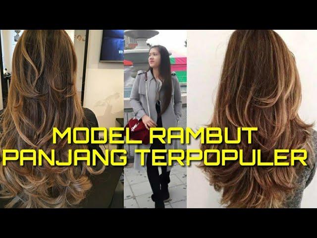 34 Gaya Rambut Tren Masa Kini 2020 Layer Panjang Hair Styles Youtube