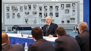 Александр Лукашенко провел расширенное заседание по вопросу проведения Европейских игр в 2019 году
