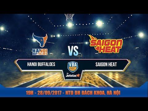 #Livestream || Game 17 : Hanoi Buffaloes vs Saigon Heat  28/09 | VBA 2017 by Jetstar