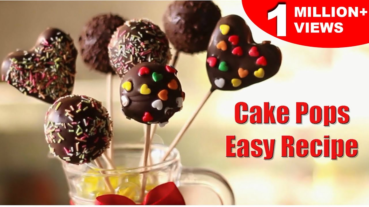 Easy Cake Pops Super Easy Recipe Kid S Dessert Recipe Kanak S Kitchen Youtube