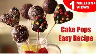 Easy Cake Pops  Super Easy Recipe  Kid&#39s Dessert Recipe  Kanak&#39s Kitchen
