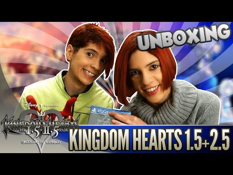 KINGDOM HEARTS HD 1.5 + 2.5 ReMIX y Poster - UNBOXING | Español | 2.0