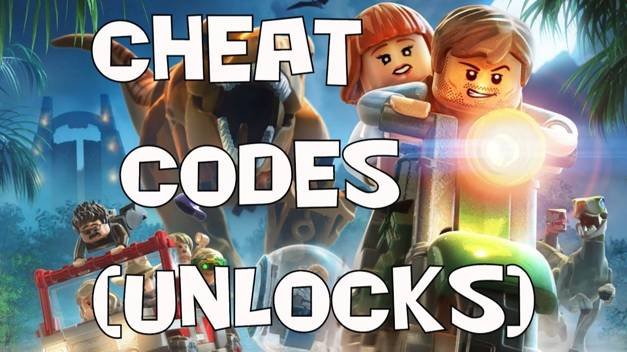 lego: jurassic world cheat codes - youtube
