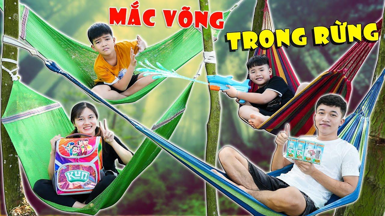 Download Trải Nghiệm 1 Ngày Mắc Võng Trong Rừng ♥ Min Min TV Minh Khoa