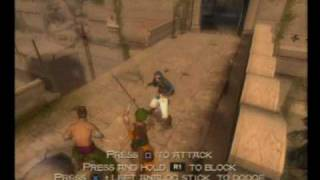 PS2 Prince of Persia Sands of Time part 1