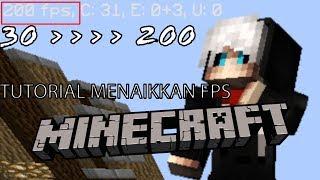 CARA MENAIKKAN FPS MINECRAFT 100% (RAM 2G = 200 fps) (Tutorial Minecraft PC)