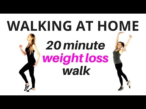 Walking at Home Walk and Tone Weight Loss Workout lose inches & full body tone up