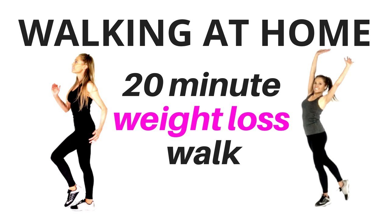 how can i lose weight by walking at home