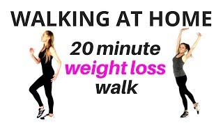 Walking at Home - Walk and Tone Weight Loss Workout - lose inches & full body tone up