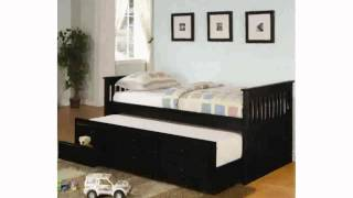 Black Trundle Beds [freyalados]