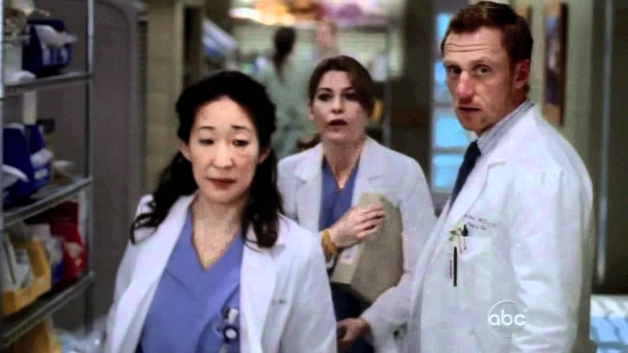 Grey's Anatomy 8x18 Cristina/Owen/Mereidth - YouTube