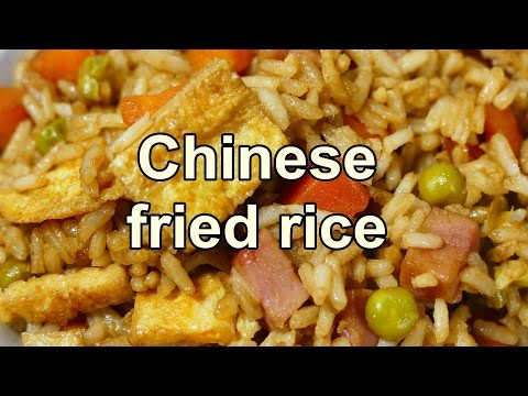 TASTY CHINESE FRIED RICE | Easy food recipes videos for dinner to make at home