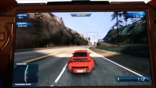 NFS Most Wanted Porsche 911 Gameplay PSVita + FREE MUSIC DOWNLOAD